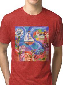 Summer Harbor Tri-blend T-Shirt