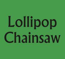 Lollipop Chainsaw t shirt by Tia Knight
