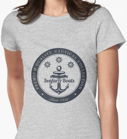 Seafarer Boat Womens Fitted T-Shirt