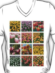 Tulips Montage 1 T-Shirt