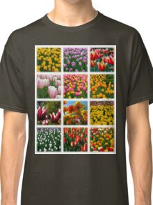 Tulips Montage 1 Classic T-Shirt