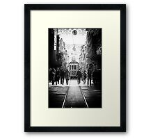 The Nostalgic Tramway Framed Print