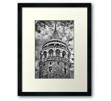 Galata Tower Framed Print