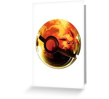 Flareon | Pokeball Greeting Card