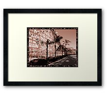 This World Is A Roller Coaster Framed Print