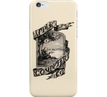 Apple Computer Co.   First logo iPhone Case/Skin