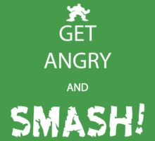 Get Angry and Smash! One Piece - Short Sleeve
