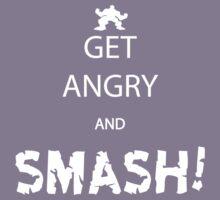 Get Angry and Smash! Kids Tee