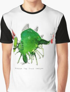Patrick the timid dragon Graphic T-Shirt
