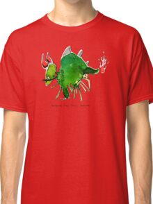 Patrick the timid dragon Classic T-Shirt