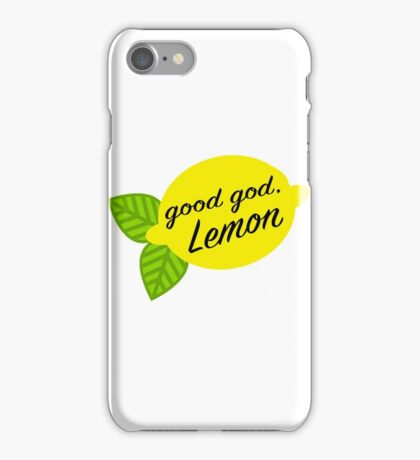 Good God, Lemon iPhone Case/Skin