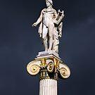 Greek god of music Apollo by shelfpublisher