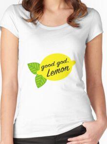 Good God, Lemon Women's Fitted Scoop T-Shirt