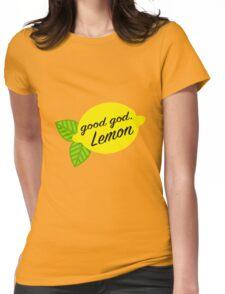 Good God, Lemon Womens Fitted T-Shirt