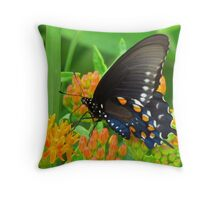A Butterfly's Delight Throw Pillow