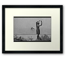 """""""For your safety and security... Framed Print"""