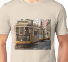Historic Lisbon trams Unisex T-Shirt