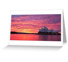 Sublime Sydney Sunrise Greeting Card