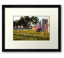 Memorial Day 2012 Framed Print