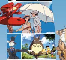 No Face-Hayao Miyazaki Films Sticker
