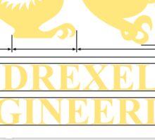 Drexel Engineering Shirt Sticker