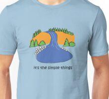 Simple Things - Waterfall Unisex T-Shirt