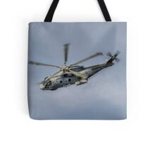 Royal Navy Merlin Helicopter Tote Bag