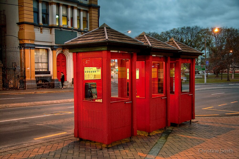The Red Phone Boxes by Christine Smith
