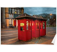 The Red Phone Boxes Poster