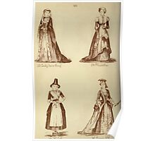 Fancy dresses described or What to wear at fancy balls by Ardern Holt 297 Lady Jane Grey Martha Wilala Louis XIV Poster