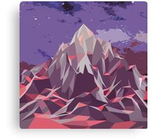 Night Mountains No. 6 Canvas Print