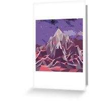 Night Mountains No. 6 Greeting Card