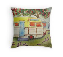Boatsheds Throw Pillow