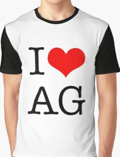 I <3 AG Graphic T-Shirt