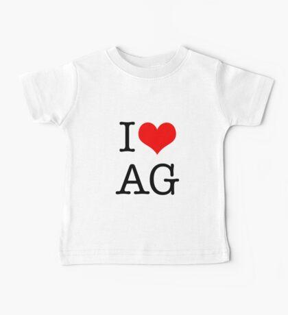 I <3 AG Baby Tee