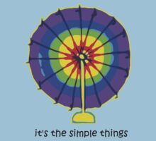 Simple Things - Ferris Wheel Kids Tee