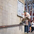 Barry Manfield fs five O grind. by Luke Carl Thompson