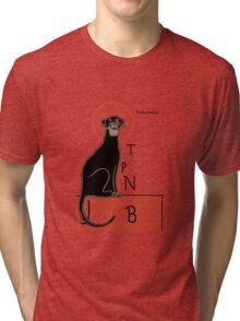 Panthère Noir Tri-blend T-Shirt