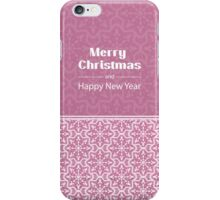 New Year; winter; Christmas  iPhone Case/Skin