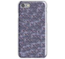 Moon Emoji Pattern  iPhone Case/Skin