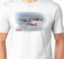 The Red Arrows -  Duvets, Phone Cases, Mugs etc Unisex T-Shirt