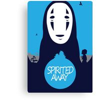 Minimalist Spirited Away Canvas Print