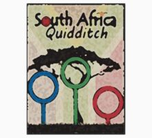 South Africa Quidditch Kids Clothes