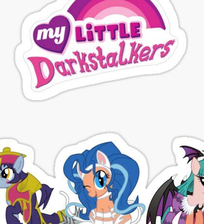 My little Darkstalkers Sticker