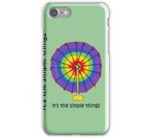 Simple Things - Ferris Wheel iPhone Case/Skin