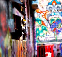 The Alley of Colour 2 by Andrew Berends