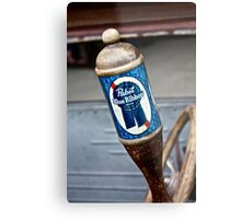 Pabst Blue Ribbon Beer Metal Print