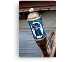 Pabst Blue Ribbon Beer Canvas Print