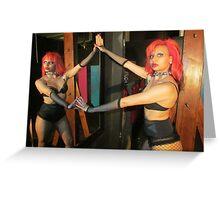 mirror pasion Greeting Card