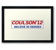 Coulson 2012 Framed Print